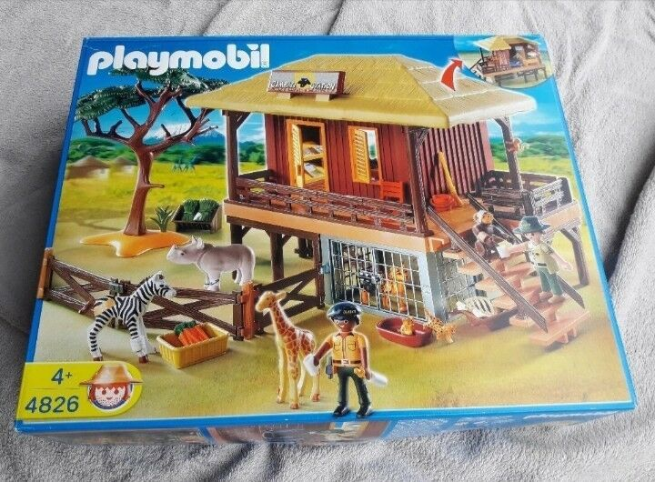 Playmobil Afrikas Tierwelt 4826, 4827, 4828, 4829, 4830, 4831, 4832, 4833, 4834
