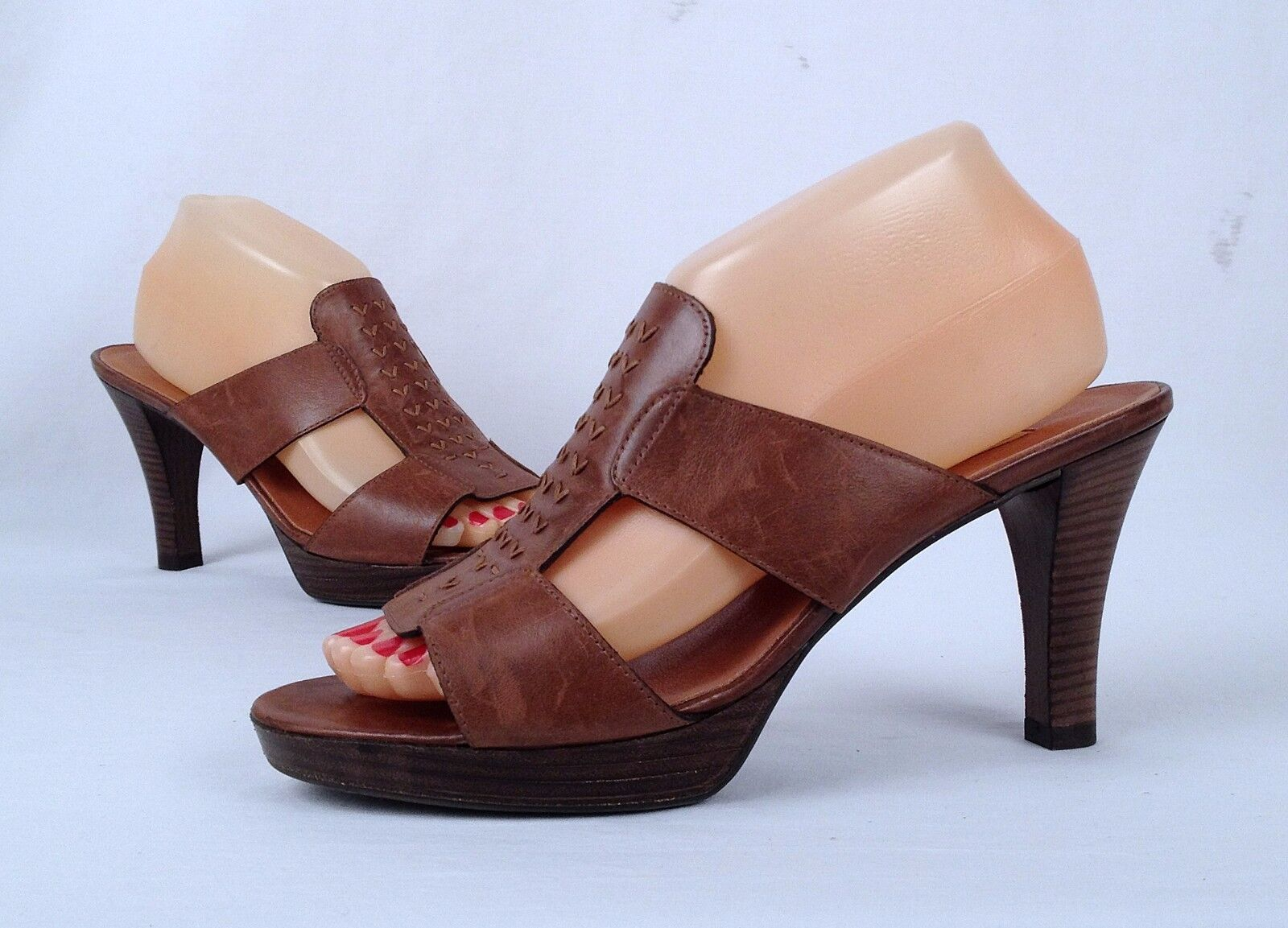 New   Paul Green 'Perla' Sandal- Brown-Choose Size-   (02)