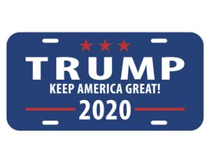 TRUMP LICENSE plate novelty car vanity tag the President of America USA Politics