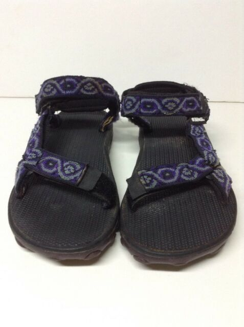 78aac8ecc74ed3 TEVA Womens 6402 Inversion Water Sandals Hiking Sport Size 7 Purple Flowers