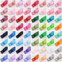 High Quality Plain Grosgrain Ribbon Solid Colour Colours Decor Craft Crafts Bows