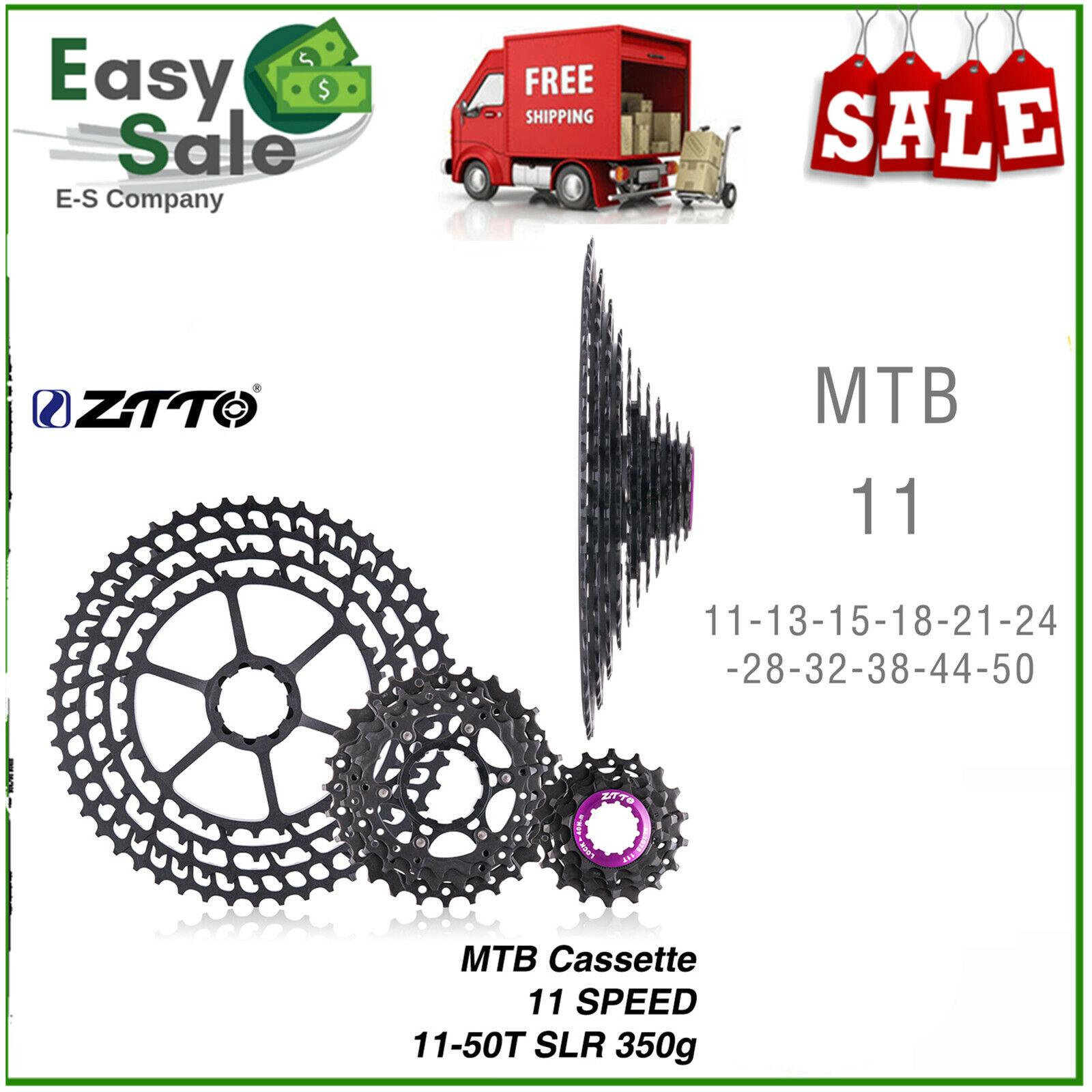 MTB 10 11 Velocidades Cassette 11-52T amplia relación CNC rueda libre de piezas de bicicleta de montaña