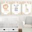 Safari-jungle-animaux-Nursery-Imprime-Set-de-3-Baby-Girl-Room-photos-Wall-Art miniature 3