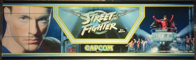 Street Fighter The Movie Arcade 1995 For Sale Online Ebay