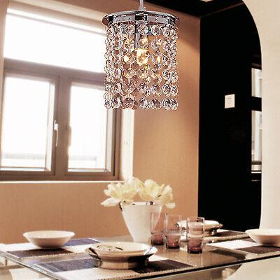 luxury Crystal Chandelier Ceiling Pendant Lights Hanging Lamp Living Bedroom