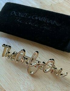Dolce & Gabbana The Only One Brooch Brand New