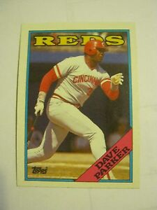 Details About 1988 Topps 315 Dave Parker Baseball Card Gs23 30