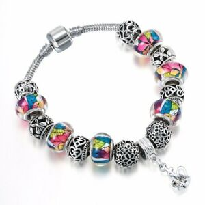 Bracelet-charms-perles-colorees