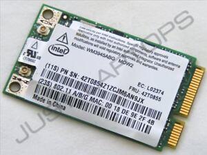Intel Wm3945abg Wireless Wifi Card 42t0853 For Ibm Thinkpad T60 T61 R61 Z61 X60 Easy To Repair Network Cards