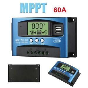 40/50/60A régulateur de panneau solaire MPPT régulateur de Charge 12V/24V
