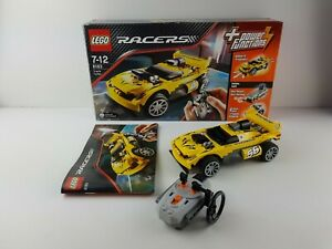 Lego-Racers-8183-Track-Turbo-RC-Auto-gelb-mit-OVP-und-Ba-No-56-Radion-Control