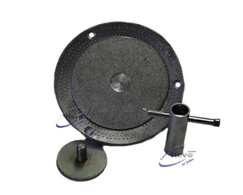 Dom-Schleifteller Pyramidennoppen passend für Nilco 432-406 mm Ø
