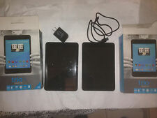 """2 Trio Stealth G4 7.85"""" 8GB Android Tablet WiFi Quad Core Bundle FOR PARTS"""