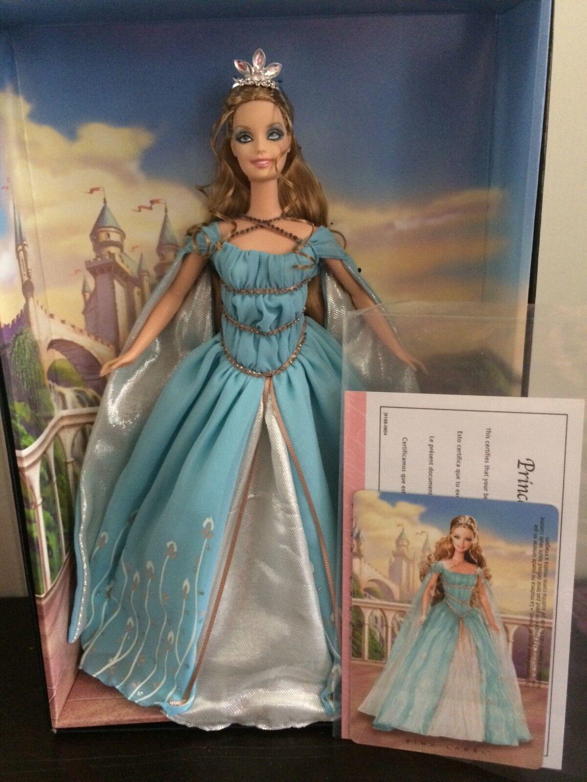 Barbie Ethereal Princess rosado Label mattel j9188