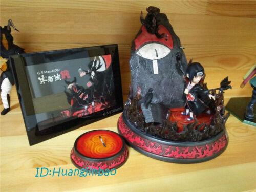Naruto Uchiha Itachi Resin Statue Figurine G5 Studio Painted LED Light GK In Box