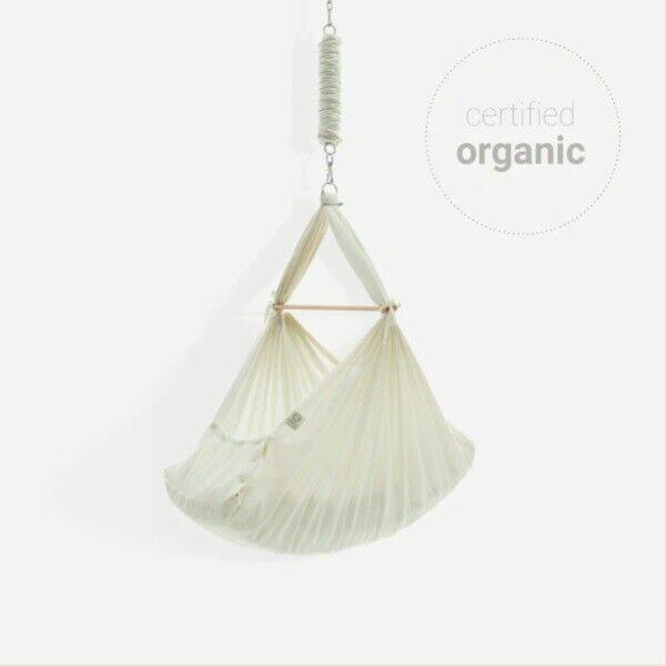 Natures Sway - Organic Baby Hammock & Beechwood...