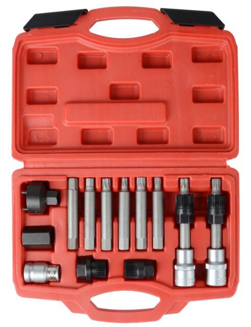 """Tool Hub 1010 Bosch VAG Alternator Pulley Removal Socket Torx Star T50 1//2/"""" Dr"""