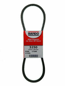 Accessory Drive Belt Rpf Precision Engineered Raw Edge Cogged V Belt Bando 3250 Ebay