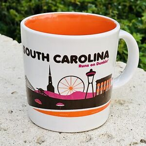 Dunkin Donuts SOUTH CAROLINA Destination Coffee Mug 2012