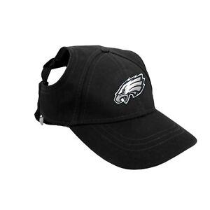 Philadelphia-Eagles-NFL-Licensed-LEP-Dog-Pet-Baseball-Cap-Hat-Sizes-S-XL