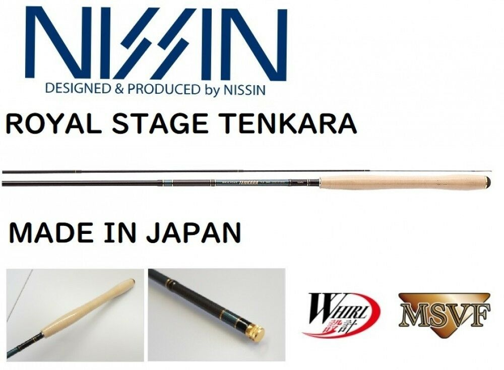 Nissin Royal Stage Tenkara Fry Rod 6 4 3608 Made in Japan F S