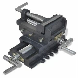 vidaXL-Bankschroef-Handmatig-78-mm-Schroef-Boorklem-Bankklem-Schroefklem-Klem
