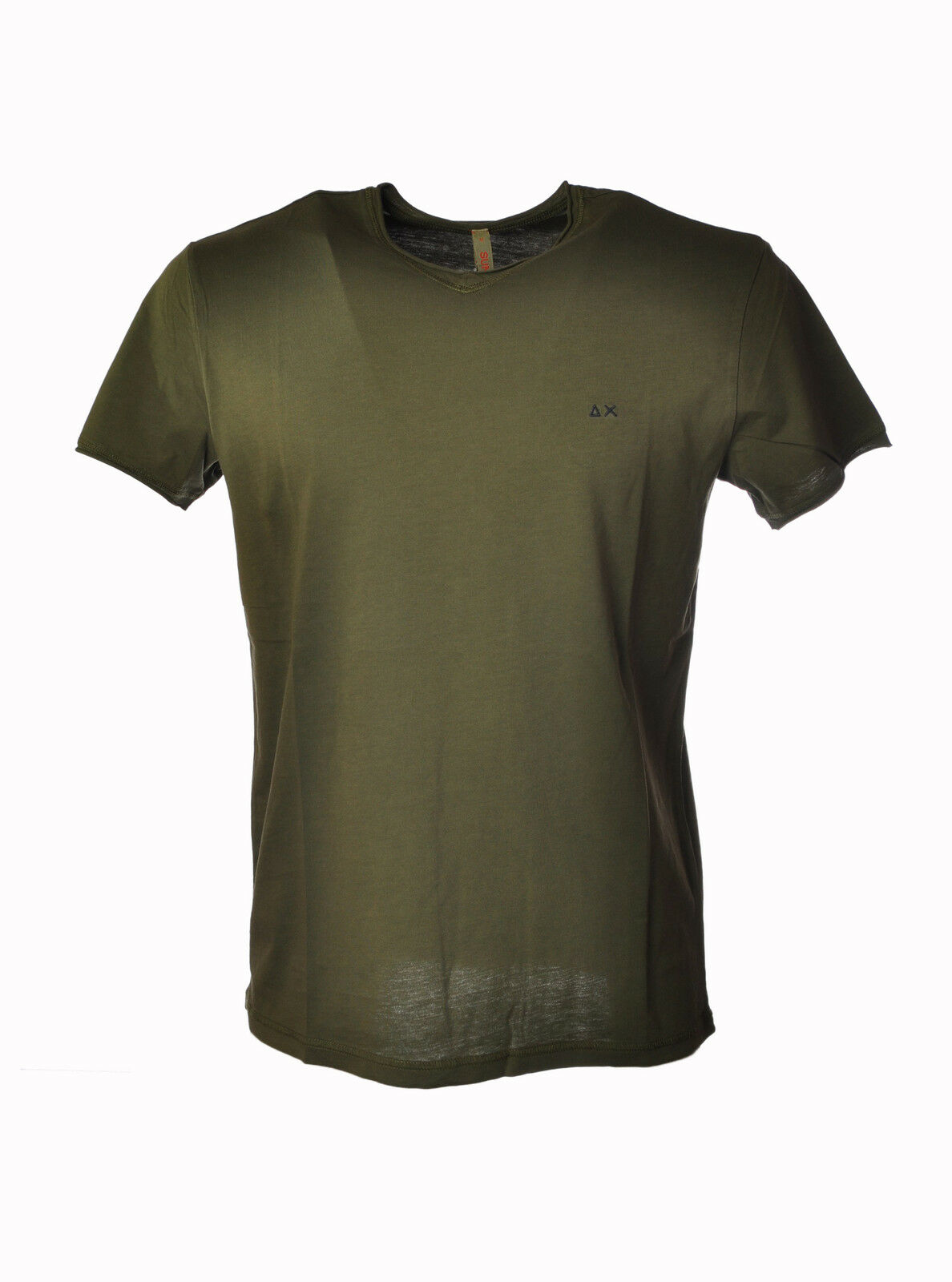 Sun 68 - Topwear-T-shirts - Man - Green - 3200925E184158