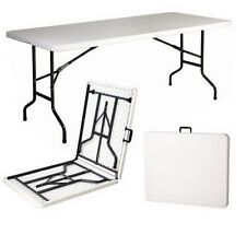 6ft folding collapsible portable pop up table rh ebay co uk pop up table view swift pop up tablette android