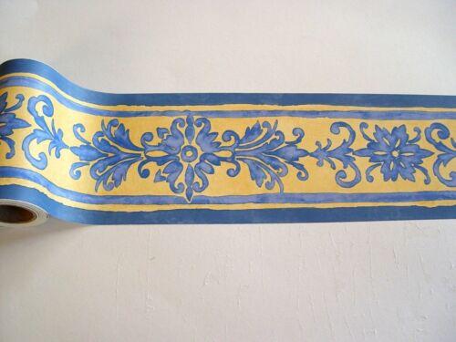 3x Border Self-Adhesive 10 3 Borders 7cmx5m Renaissance Blue Blue 61456