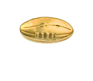 Rugby-Ball-Lapel-Pin-Cravat-Pin-Gold-Made-To-Order-in-Jewellery-Quarter-B-039-ham