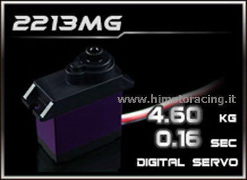 Mini Servo Digital Power HD 4.6 kg 0,08 Sec mit Getriebe in Metall HD-2213MG