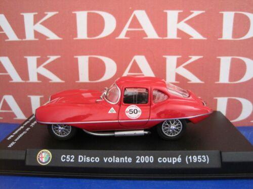 Die cast 1//43 Modellino Auto Alfa Romeo C52 Disco Volante Coupe 1953