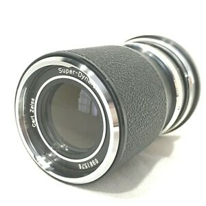 *EXC+++++* Carl ZEISS SUPER Dynarex 135mm F/4 MF Telephoto Lens Icarex from JAPA