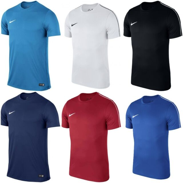 saltar con las manos en la masa Adular  Nike Dri Fit Mens Park VI Short Sleeve Jersey Authentic Football Shirts  725891 657 Red S 95 for sale online | eBay