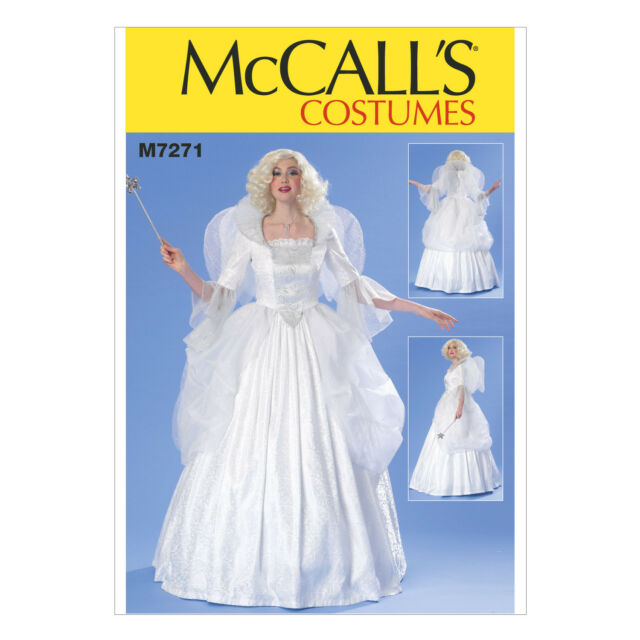 Fairy Godmother Angel Dress Ball Gown McCall Costume Sewing Pattern ...