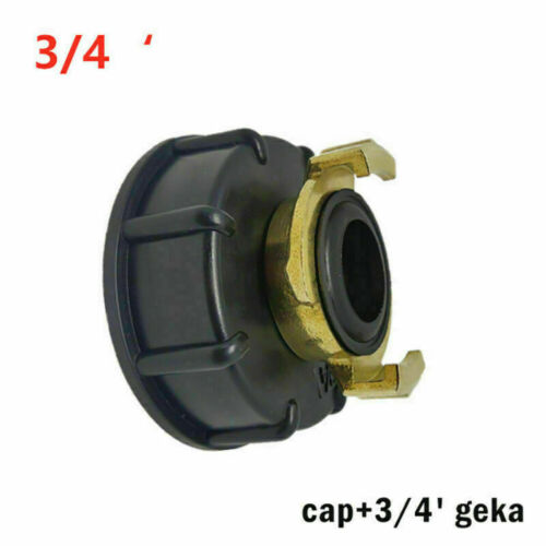 S60X6 Adapter IBC Regenwassertank Auslaufhahn für GEKA