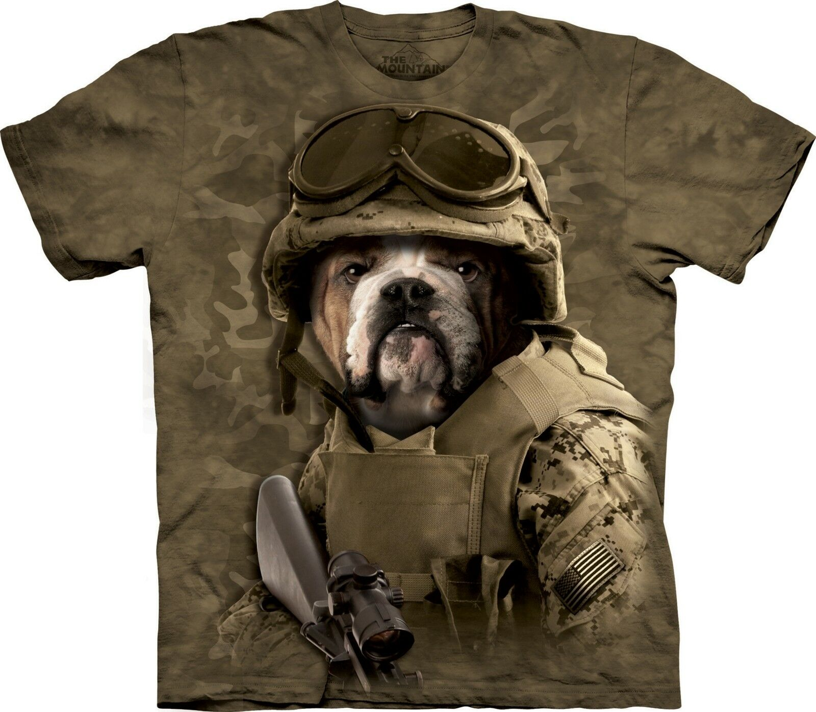 Combat Sam Manimals T Shirt Adult Unisex The Mountain
