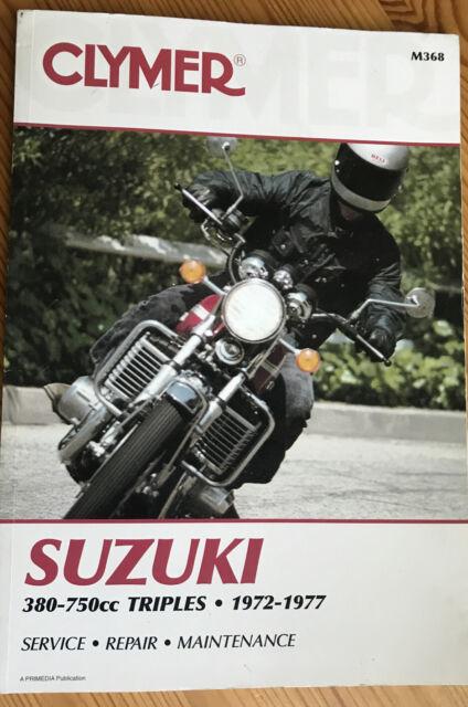 Clymer Shop Repair Manual  M368 Fits Suzuki Gt550  Gt750