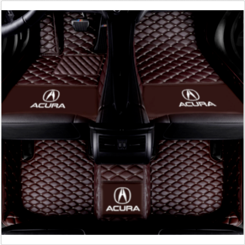 For Car Mat Acura TL MDX RDX TLX TSX 2005-2020 Luxury