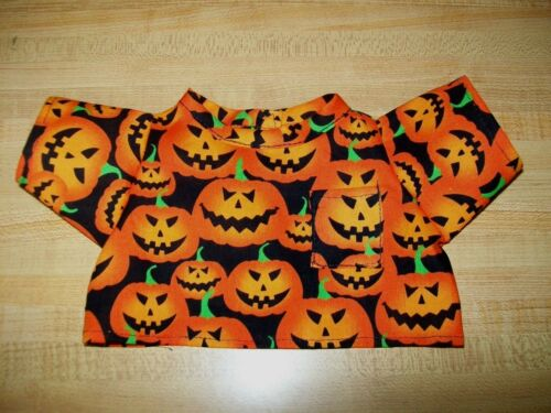 "ORANGE HALLOWEEN JACKOLANTERN SCRUBS DOCTOR NURSE for 16/"" CPK Cabbage Patch Kids"