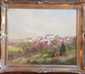 :: Expressionist Mediterranean Landscape ° illegible Signed ° France France?
