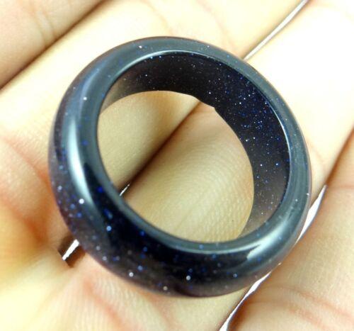 18MM Beautiful Multicolored agate ring GEM//GEMSTONE LOOSE BEADS AB/_2