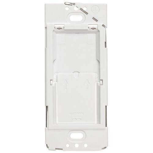 Lutron Caseta Wireless White Wallplate Bracket New