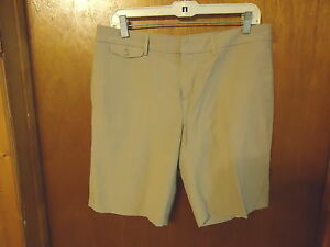 Womens-Gap-Size-8-Beige-Casual-Dress-Shorts-034-BEAUTIFUL-PAIR-034