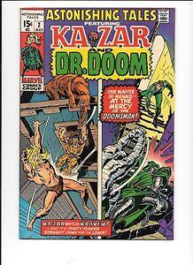 Astonishing-Tales-2-October-1970-Kraven-Dr-Doom