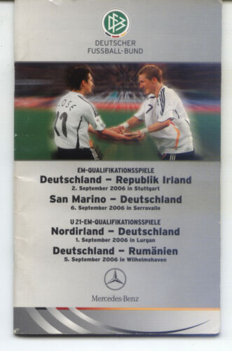 2006 Germany Ireland + San Marino Northern Ireland Romania VIPEdition