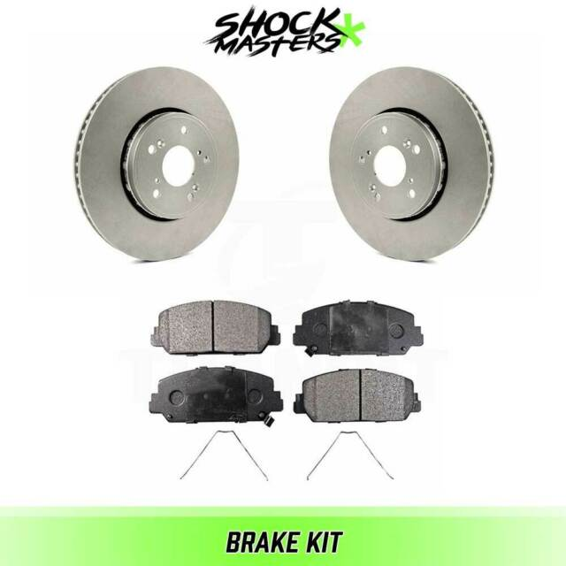 Front Semi Metalic Brake Pads & Rotor Kit For 2016 Acura