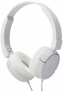 JBL-Pure-Bass-Sound-T450-Wired-On-Ear-Headphones-White-NEW