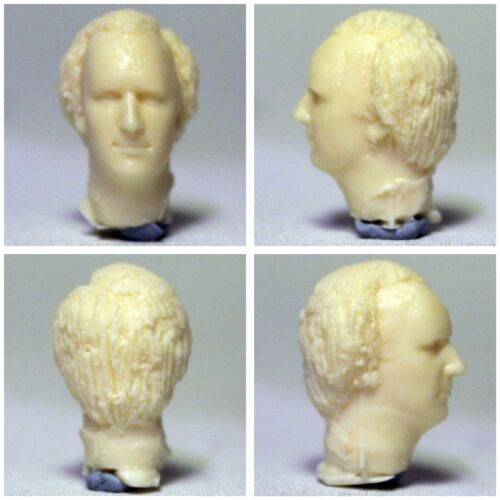 temps Crash Doctor Who custom figure head sculpt-Older cinquième docteur