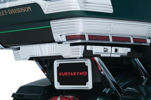 Kuryakyn 8731 Adjustable Tour-Pak Relocator for 2014-2017 Harley Touring Models